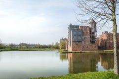 Άποψη σε ένα παλαιό κάστρο στοκ φωτογραφίες