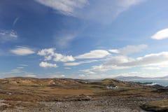 Άποψη σε Malin επικεφαλής Ιρλανδία Στοκ εικόνα με δικαίωμα ελεύθερης χρήσης