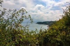 Άποψη σε Thiessow, Ruegen στοκ εικόνα με δικαίωμα ελεύθερης χρήσης