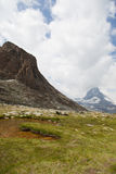 Άποψη σε Zermatt Στοκ εικόνα με δικαίωμα ελεύθερης χρήσης