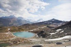 Άποψη σε Zermatt στοκ φωτογραφία με δικαίωμα ελεύθερης χρήσης