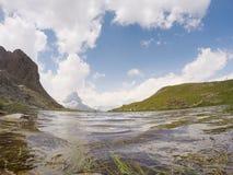 Άποψη σε Zermatt στοκ φωτογραφίες με δικαίωμα ελεύθερης χρήσης