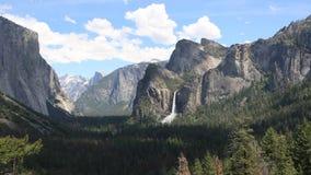 Άποψη σηράγγων σε Yosemite απόθεμα βίντεο