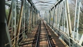 Άποψη σιδηροδρόμων fron φιλμ μικρού μήκους