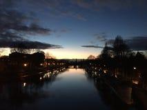Άποψη σούρουπου Στοκ Φωτογραφία