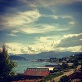 Άποψη σπιτιών Στοκ Εικόνες
