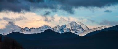 Άποψη στα βουνά Tatry Στοκ Εικόνα