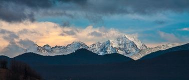 Άποψη στα βουνά Tatry Στοκ εικόνα με δικαίωμα ελεύθερης χρήσης