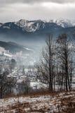 Άποψη στα βουνά Tatry Στοκ φωτογραφίες με δικαίωμα ελεύθερης χρήσης