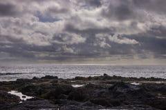 Άποψη στα νησιά των Κανάριων Νήσων στοκ εικόνα