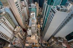 Άποψη στεγών Χονγκ Κονγκ πέρα από την πόλη στοκ εικόνα με δικαίωμα ελεύθερης χρήσης