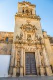 Άποψη στην εκκλησία του SAN Pedro Arcos de στο Λα Frontera - Ισπανία Στοκ Φωτογραφία