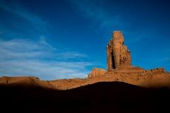 Άποψη στην κοιλάδα μνημείων, Αριζόνα, ΗΠΑ Στοκ Εικόνες
