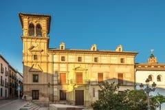 Άποψη στην οικοδόμηση Antequera του πόλης μουσείου στην Ισπανία Στοκ Εικόνες