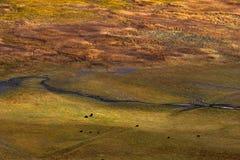 Άποψη στην ορεινή περιοχή, Sichuan, Κίνα στοκ φωτογραφία με δικαίωμα ελεύθερης χρήσης
