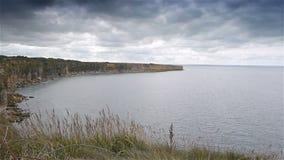 Άποψη στην παραλία της Γιούτα Παγκόσμιος πόλεμος 2 μέρα-μ, Νορμανδία Γαλλία, ΤΗΓΑΝΙ φιλμ μικρού μήκους