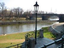 Άποψη στην παλαιά Πράγα στοκ φωτογραφία