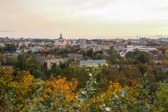 Πανόραμα Vilnius Στοκ Εικόνα