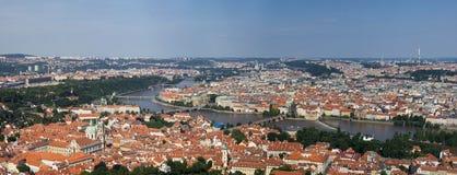 Άποψη στην Πράγα Στοκ φωτογραφία με δικαίωμα ελεύθερης χρήσης