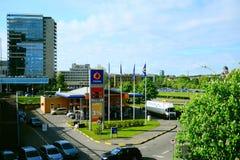 Άποψη στην πόλη Vilnius - κατοικημένο σύνθετο Vilnius Γκέιτς Στοκ εικόνες με δικαίωμα ελεύθερης χρήσης