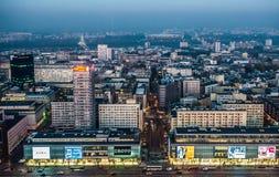 Άποψη στη Βαρσοβία Στοκ Εικόνες