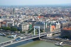 Άποψη στη Βουδαπέστη Στοκ Εικόνα