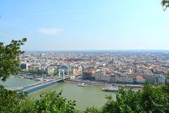 Άποψη στη Βουδαπέστη Στοκ Εικόνες