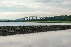 Άποψη στη γέφυρα Oland Στοκ φωτογραφία με δικαίωμα ελεύθερης χρήσης