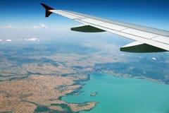 Άποψη στη γη Στοκ Εικόνα