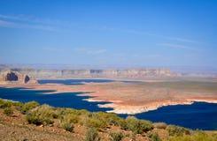 Άποψη στη λίμνη Powell στοκ φωτογραφία με δικαίωμα ελεύθερης χρήσης
