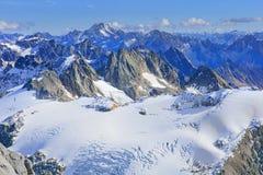 Άποψη στις ελβετικές Άλπεις Στοκ Εικόνες