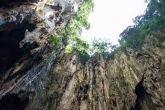 Άποψη στις σπηλιές Batu στη Κουάλα Λουμπούρ, Μαλαισία Στοκ φωτογραφίες με δικαίωμα ελεύθερης χρήσης