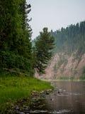 Άποψη στον ποταμό ilych Στοκ Φωτογραφίες