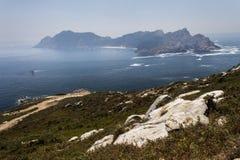 Άποψη στο απόμακρο νησί στοκ εικόνα