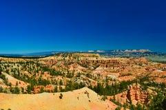 Άποψη στο εθνικό πάρκο φαραγγιών του Bryce στοκ φωτογραφίες