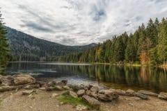 Άποψη στο μεγάλο arber λιμνών Στοκ εικόνες με δικαίωμα ελεύθερης χρήσης