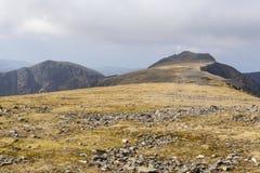 Άποψη Συνόδων Κορυφής Idris Cadair Στοκ φωτογραφία με δικαίωμα ελεύθερης χρήσης