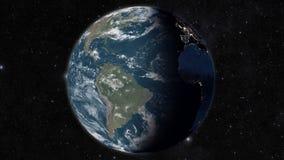 Άποψη σφαιρών από το διάστημα απεικόνιση αποθεμάτων