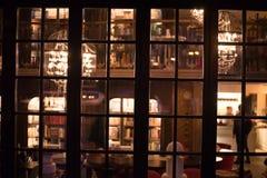 Άποψη σχετικά με τα παλαιά αναδρομικά παράθυρα Στοκ Φωτογραφίες