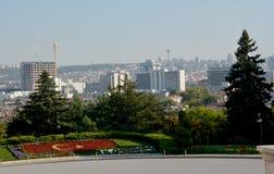 Άποψη σχετικά με την Άγκυρα από το μαυσωλείο Ataturk Στοκ φωτογραφία με δικαίωμα ελεύθερης χρήσης