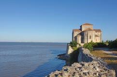 Άποψη σχετικά με την εκβολή Girond, Talmont, Gironde, Aquitaine, Γαλλία στοκ φωτογραφία με δικαίωμα ελεύθερης χρήσης