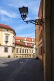 Άποψη σχετικά με την οδό της παλαιάς πόλης Στοκ Εικόνες