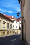 Άποψη σχετικά με την οδό της παλαιάς πόλης Στοκ Εικόνα