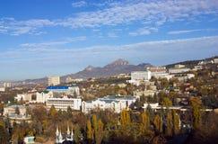 Άποψη σχετικά με την πόλη Pyatigorsk. στοκ φωτογραφία με δικαίωμα ελεύθερης χρήσης