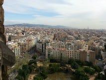 Άποψη σχετικά με τη Βαρκελώνη Στοκ φωτογραφία με δικαίωμα ελεύθερης χρήσης