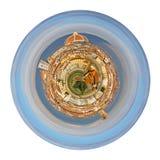 Άποψη σχετικά με τη Φλωρεντία Ιταλία από το πάρκο Michelangelo Στοκ Εικόνες