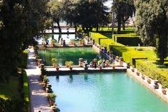 Άποψη σχετικά με τις τρεις λίμνες στην Ιταλία Στοκ Εικόνες
