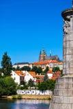 Άποψη σχετικά με τον καθεδρικό ναό του ST Vitus Στοκ εικόνες με δικαίωμα ελεύθερης χρήσης