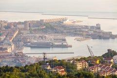 Άποψη σχετικά με τον κόλπο στην Τεργέστη Στοκ Φωτογραφία