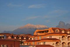 Άποψη σχετικά με το βουνό Tahtali, κοντά σε Antalya Στοκ Εικόνα